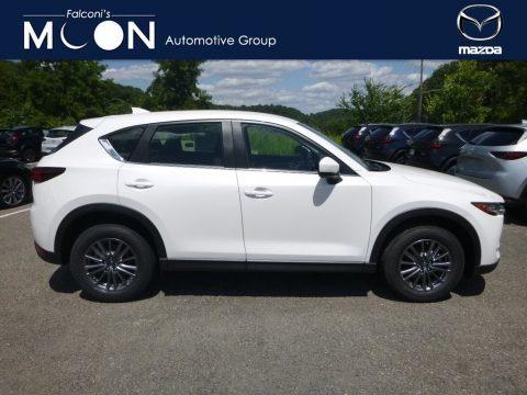Snowflake White Pearl Mica 2018 Mazda CX-5 Sport AWD