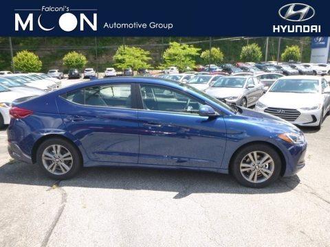 Electric Blue 2018 Hyundai Elantra SEL