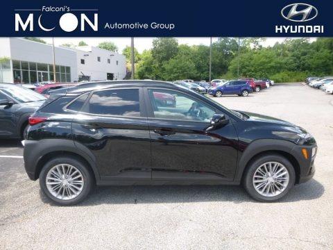 Ultra Black 2018 Hyundai Kona SEL AWD