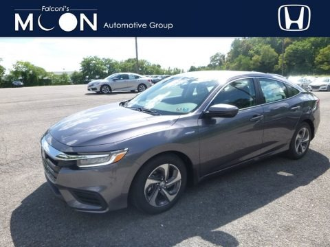 Modern Steel Metallic 2019 Honda Insight EX