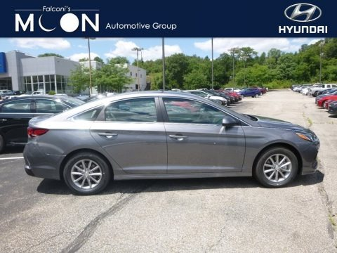Machine Gray 2018 Hyundai Sonata SE
