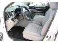 Toyota Highlander XLE Blizzard White Pearl photo #14