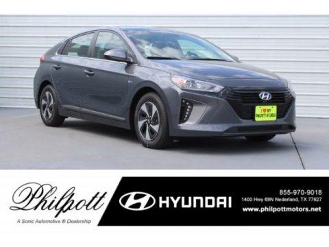 Summit Gray 2018 Hyundai Ioniq Hybrid SEL