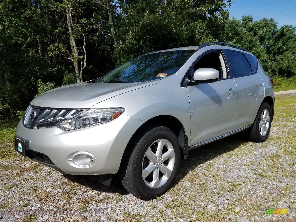 Brilliant Silver Metallic / Black Nissan Murano SL AWD