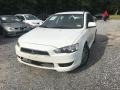 Mitsubishi Lancer ES Wicked White Metallic photo #1