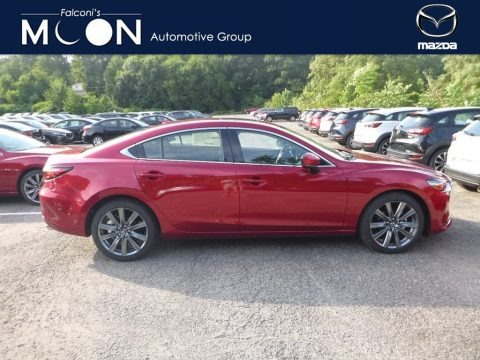 Soul Red Crystal Metallic 2018 Mazda Mazda6 Grand Touring