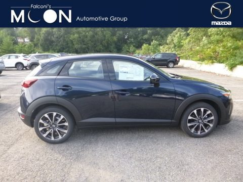 Deep Crystal Blue Mica 2019 Mazda CX-3 Touring AWD