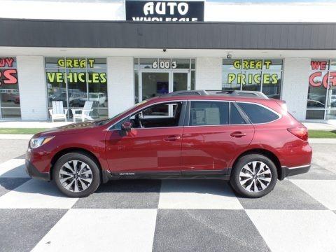 Venetian Red Pearl 2017 Subaru Outback 2.5i Limited