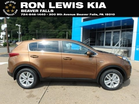 Burnished Copper 2019 Kia Sportage LX AWD