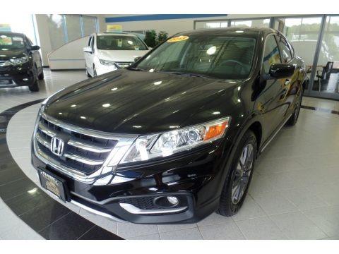 Crystal Black Pearl 2013 Honda Crosstour EX-L V-6 4WD