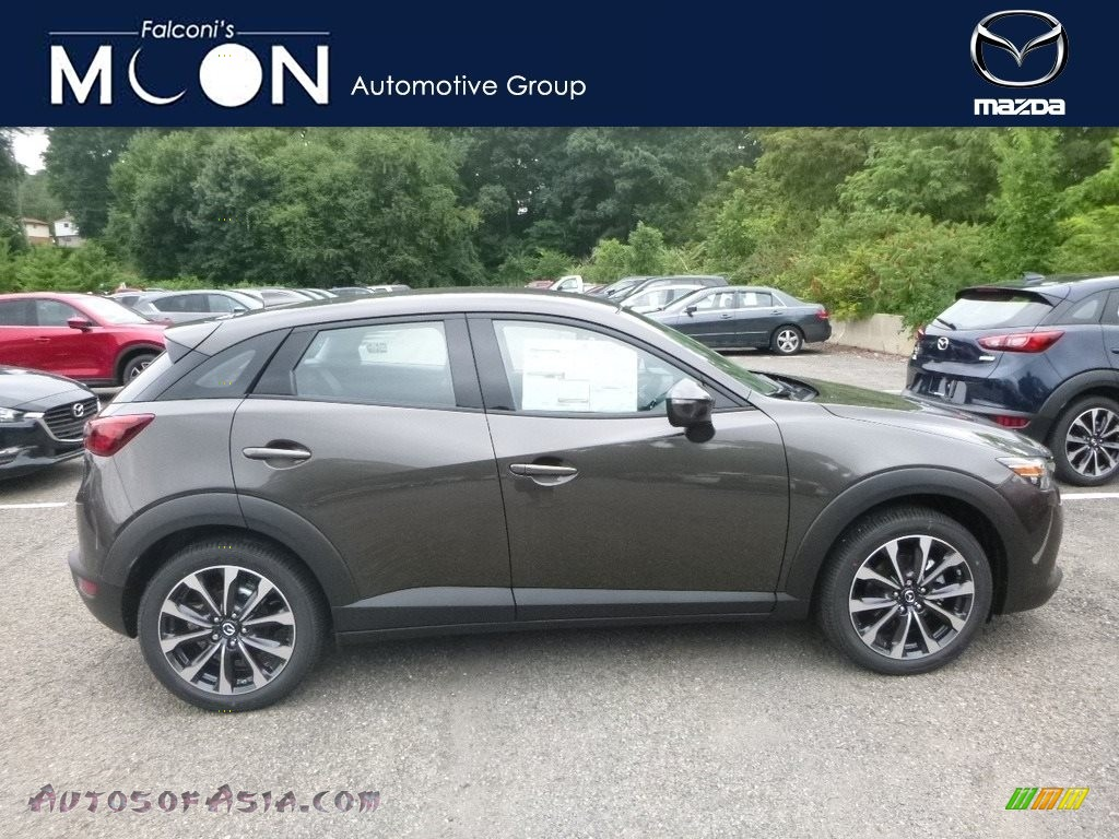 2019 CX-3 Touring AWD - Titanium Flash Mica / Black photo #1