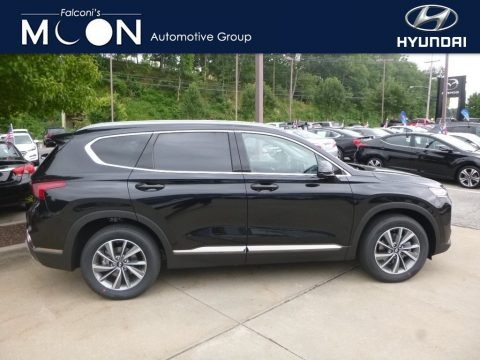 Twilight Black 2019 Hyundai Santa Fe SEL Plus AWD