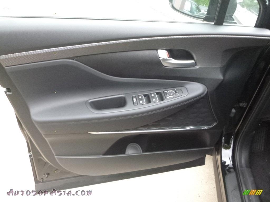 2019 Santa Fe SEL Plus AWD - Twilight Black / Black photo #9