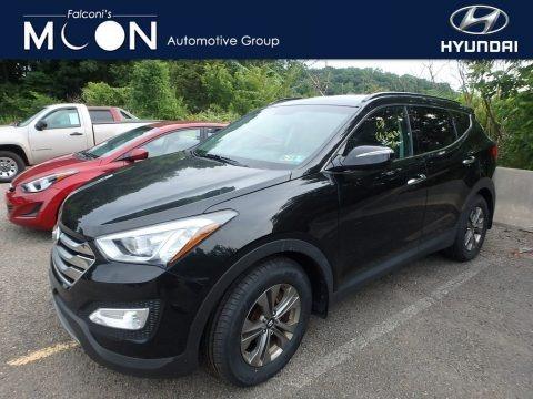 Twilight Black 2016 Hyundai Santa Fe Sport AWD