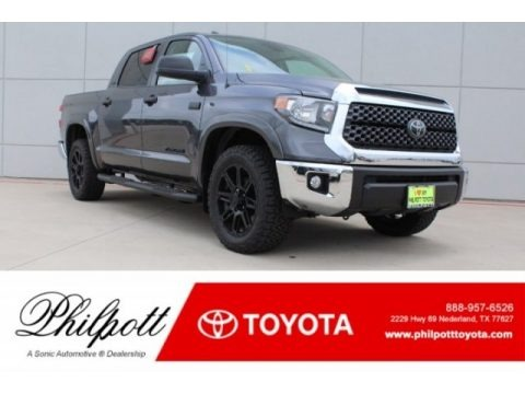 Magnetic Gray Metallic 2018 Toyota Tundra SR5 CrewMax 4x4