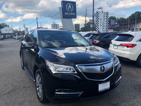 Crystal Black Pearl 2015 Acura MDX SH-AWD Technology