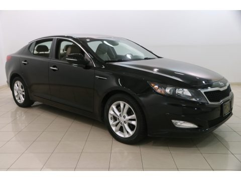 Ebony Black 2012 Kia Optima EX