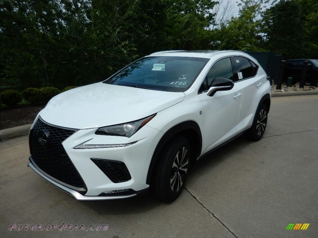 2019 NX 300 F Sport AWD - White Nova Glass Flake / Black photo #1