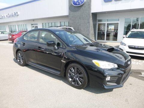 Crystal Black Silica 2019 Subaru WRX