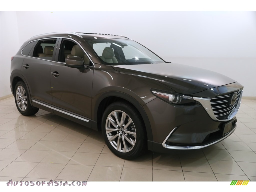 2017 CX-9 Grand Touring AWD - Titanium Flash Mica / Sand photo #1