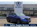 Acura RDX A-Spec Apex Blue Pearl photo #1