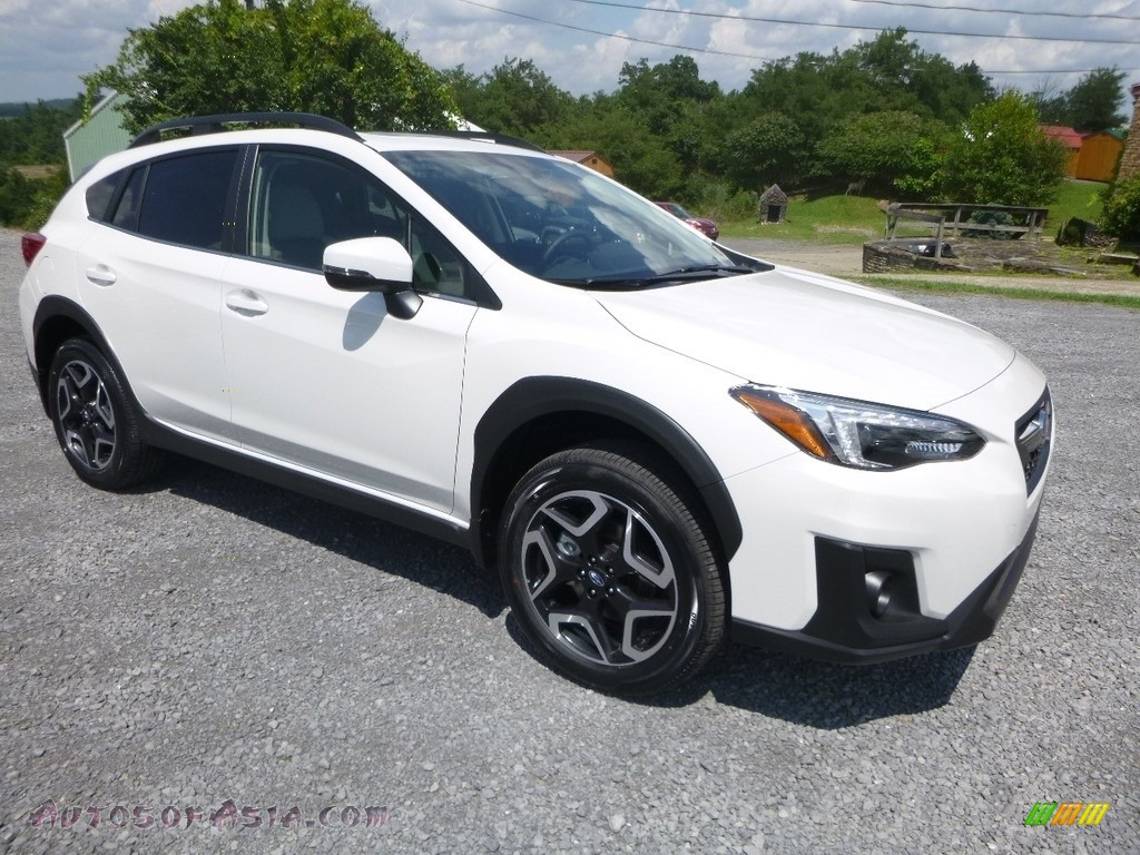 2019 Crosstrek 2.0i Limited - Crystal White Pearl / Gray photo #1