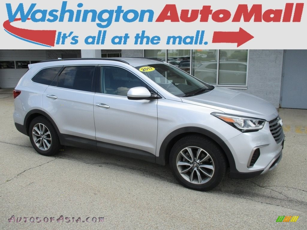 2017 Santa Fe SE AWD - Circuit Silver / Gray photo #1
