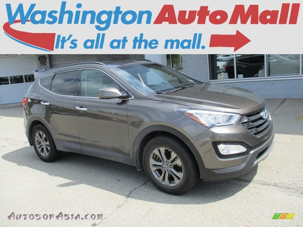 2013 Santa Fe Sport AWD - Cabo Bronze / Beige photo #1