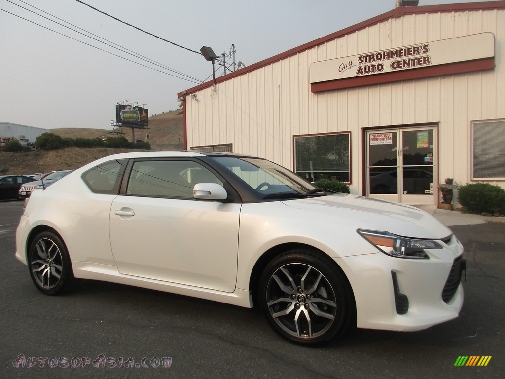 2015 tC  - Blizzard White Pearl / Dark Charcoal photo #1