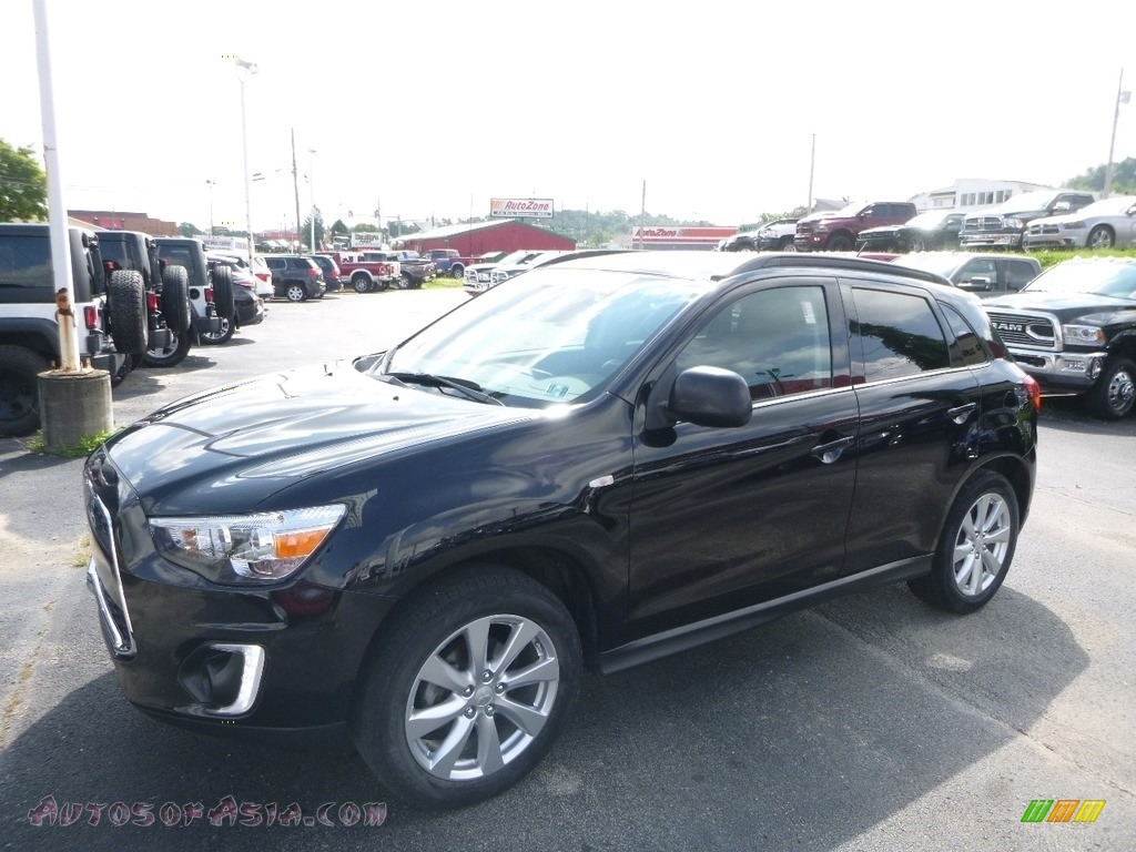 2015 Outlander Sport SE AWC - Labrador Black / Black photo #1