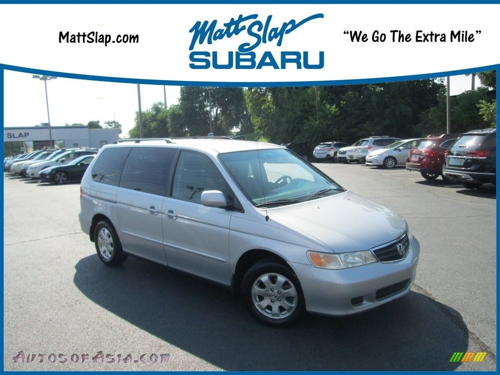 2003 Odyssey EX - Starlight Silver Metallic / Quartz photo #1