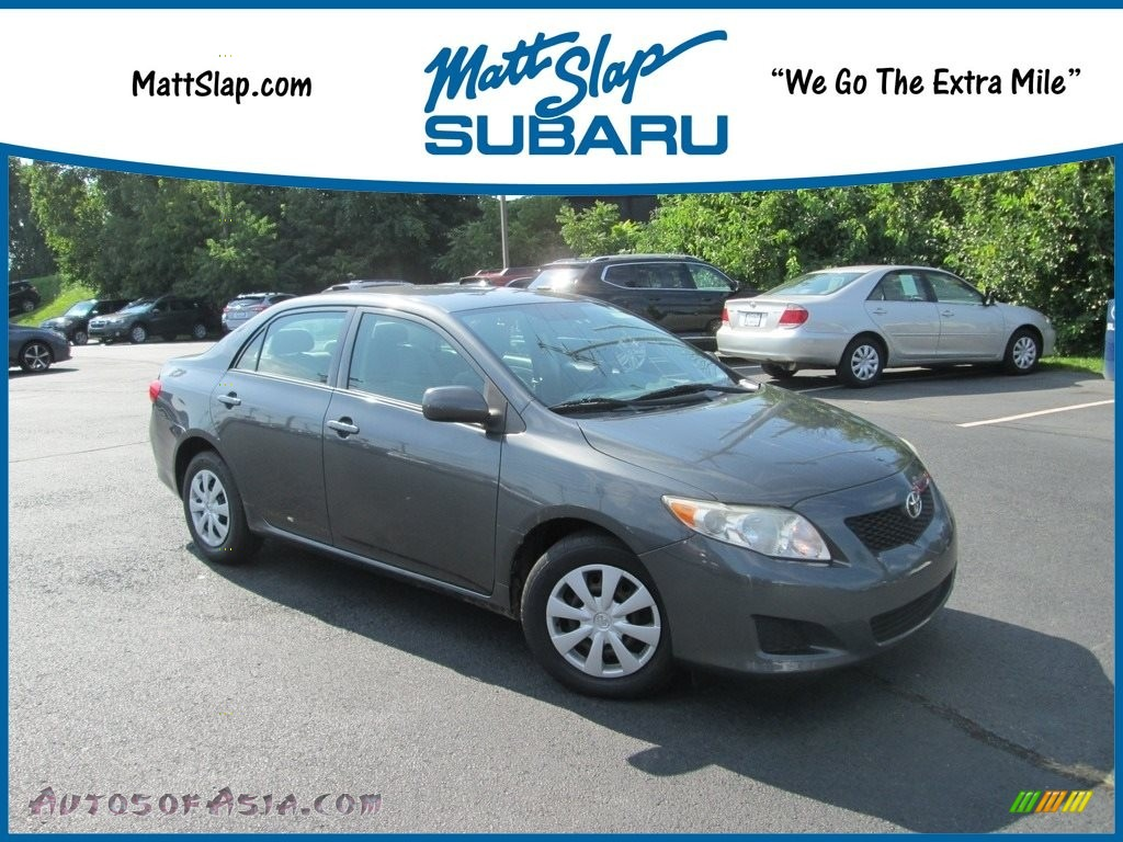 2009 Corolla LE - Magnetic Gray Metallic / Ash photo #1