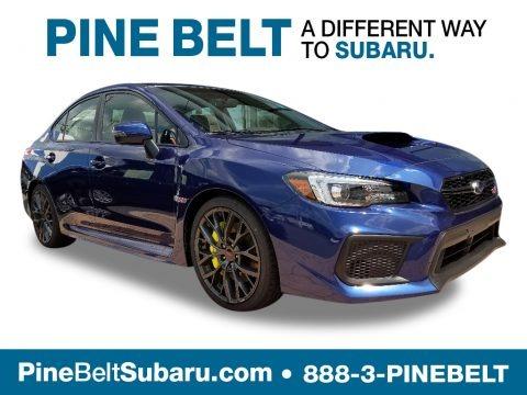 Lapis Blue Pearl 2019 Subaru WRX STI Limited