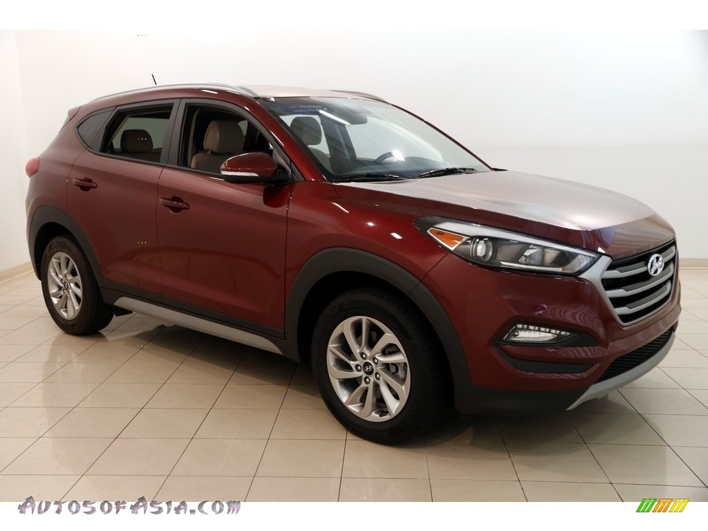 2017 Tucson Eco - Ruby Wine / Beige photo #1