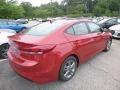 Hyundai Elantra SEL Scarlet Red photo #2