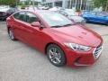 Hyundai Elantra SEL Scarlet Red photo #3