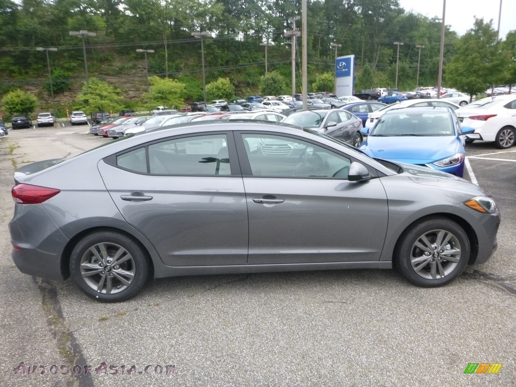 2018 Elantra Value Edition - Galactic Gray / Gray photo #1