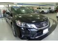 Honda Accord LX Sedan Crystal Black Pearl photo #6