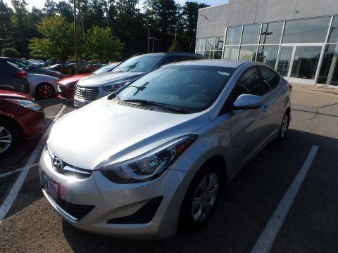 Silver 2016 Hyundai Elantra SE