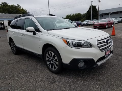 Crystal White Pearl 2016 Subaru Outback 2.5i Limited