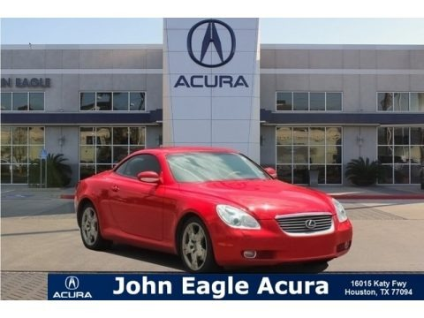 Absolutely Red 2003 Lexus SC 430