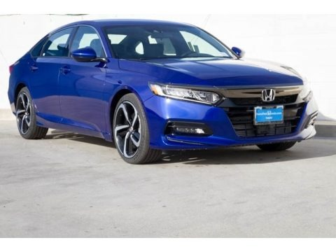 Still Night Pearl 2018 Honda Accord Sport Sedan