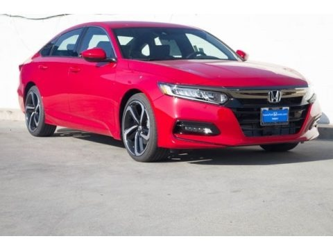 San Marino Red 2018 Honda Accord Sport Sedan