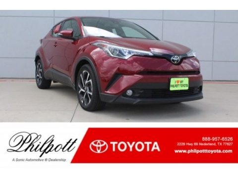 Ruby Flare Pearl 2018 Toyota C-HR XLE