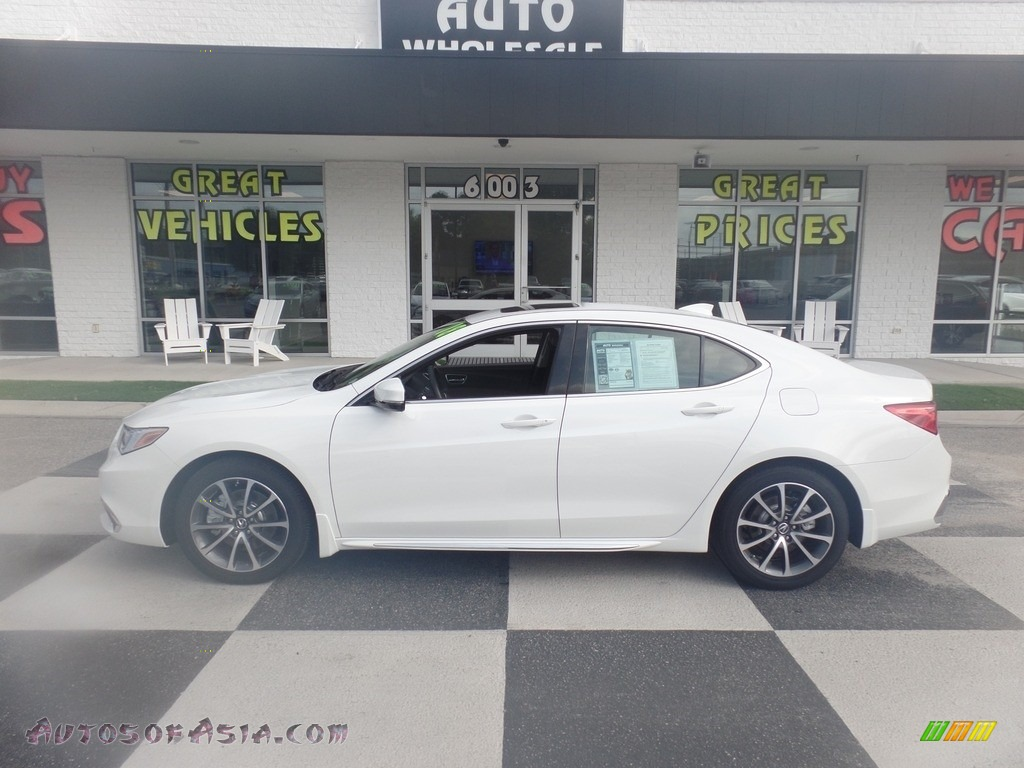 Bellanova White Pearl / Espresso Acura TLX V6 Technology Sedan