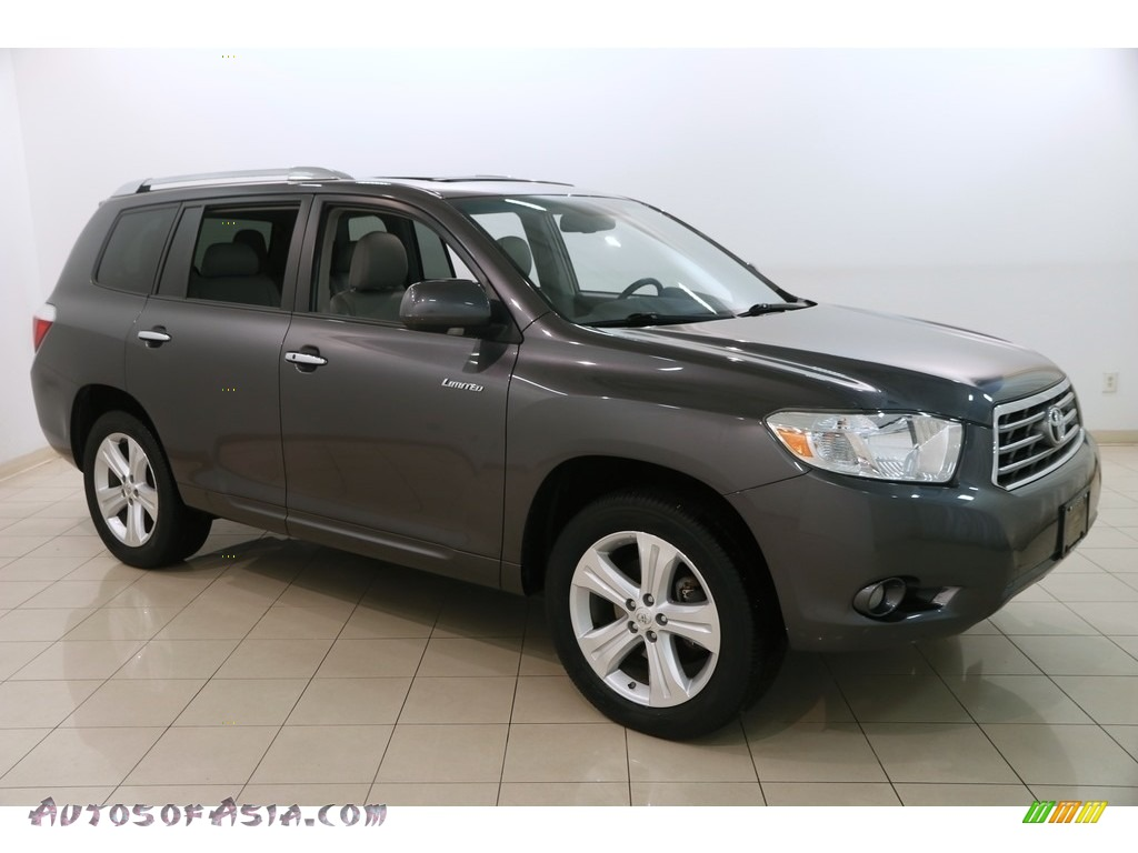 2008 Highlander Limited 4WD - Magnetic Gray Metallic / Ash Gray photo #1
