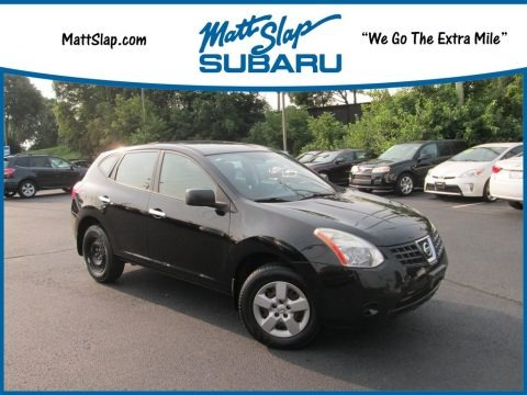 Wicked Black 2010 Nissan Rogue S AWD