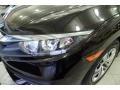 Honda Civic LX Sedan Burgundy Night Pearl photo #6