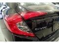 Honda Civic LX Sedan Burgundy Night Pearl photo #9