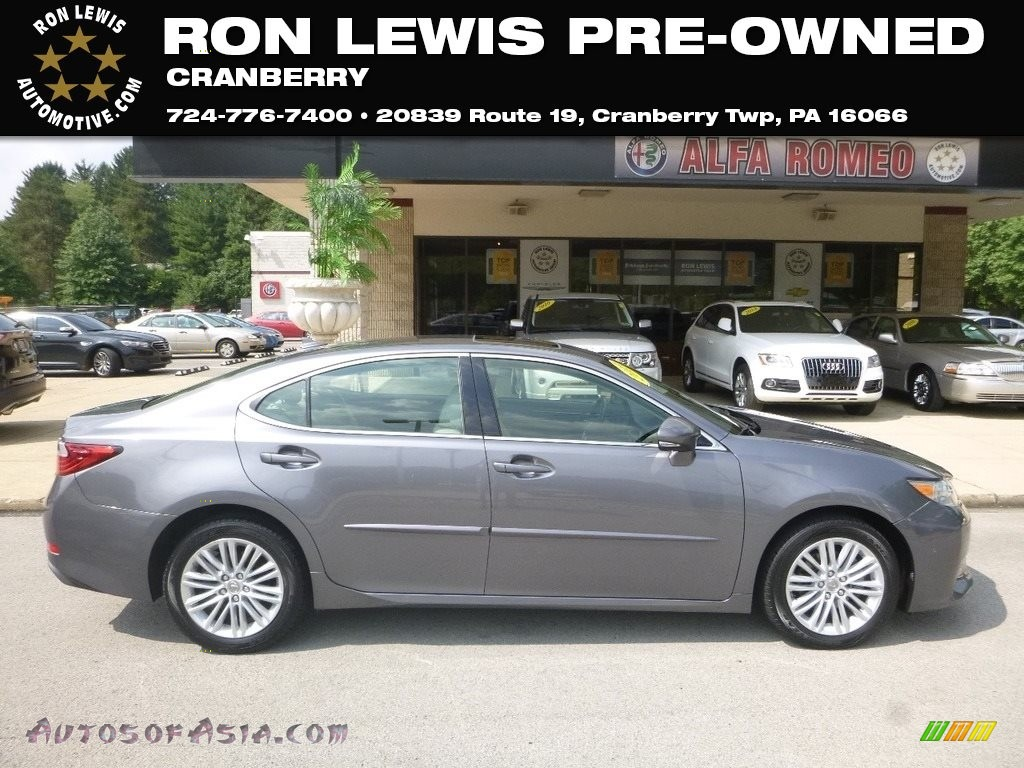 2013 ES 350 - Nebula Gray Pearl / Light Gray photo #1
